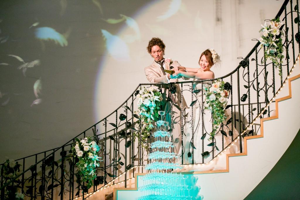 2015.0714結婚式写真シャンパンタワーカメラマン宗村岡山