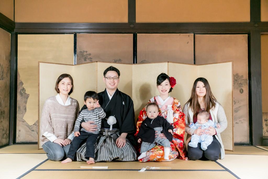 岡山倉敷で前撮り別撮りならNEMURAFILMS倉敷大橋家和装前撮り家族写真