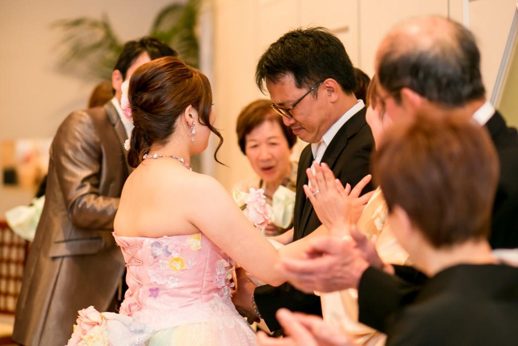 岡山倉敷で前撮り別撮りならNEMURAFILMS結婚式写真花束贈呈