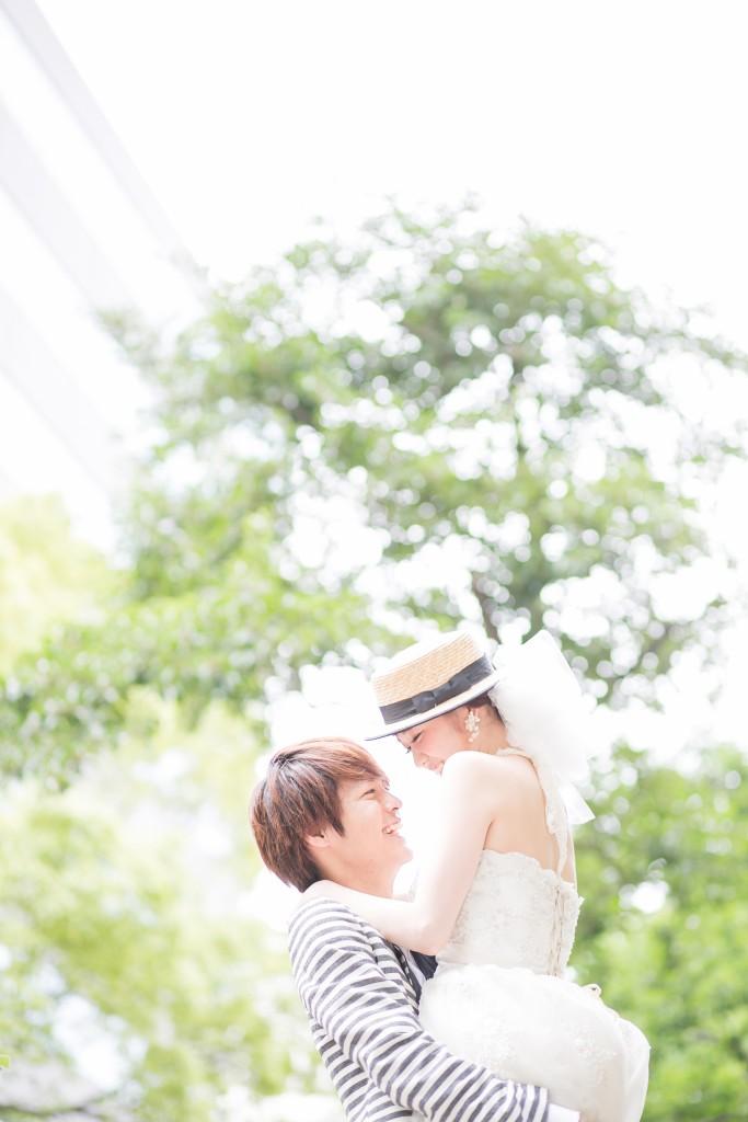 定番ポーズ岡山後楽園洋装前撮り編リフトアップ2016/08/21