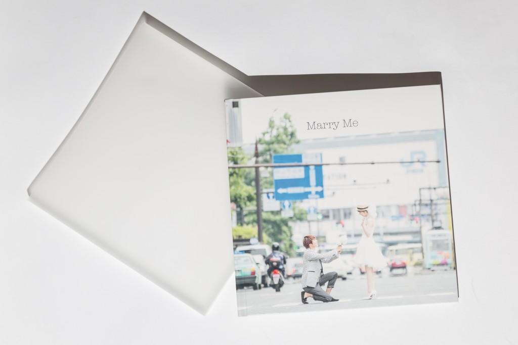 岡山倉敷で前撮り別撮りならネムラフィルムズ20ページアルバム表紙