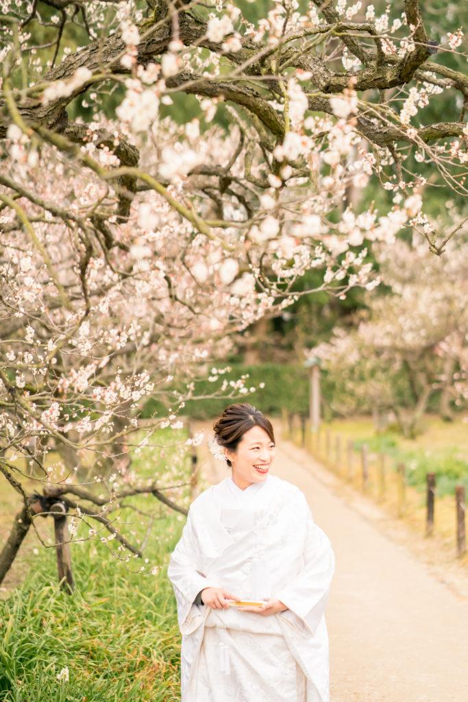 岡山前撮りの梅紹介写真。前撮りの時期をご検討中の方ご参考ください。NEMURAFILMS4