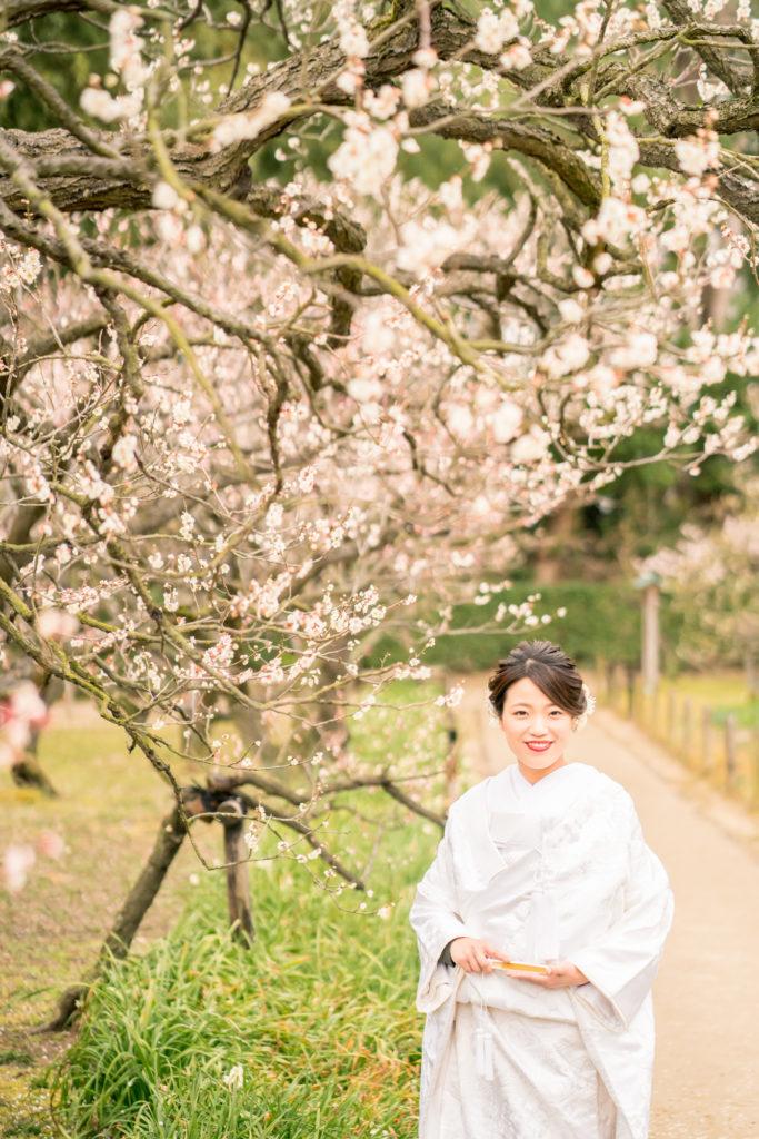 岡山前撮りの梅紹介写真。前撮りの時期をご検討中の方ご参考ください。NEMURAFILMS5