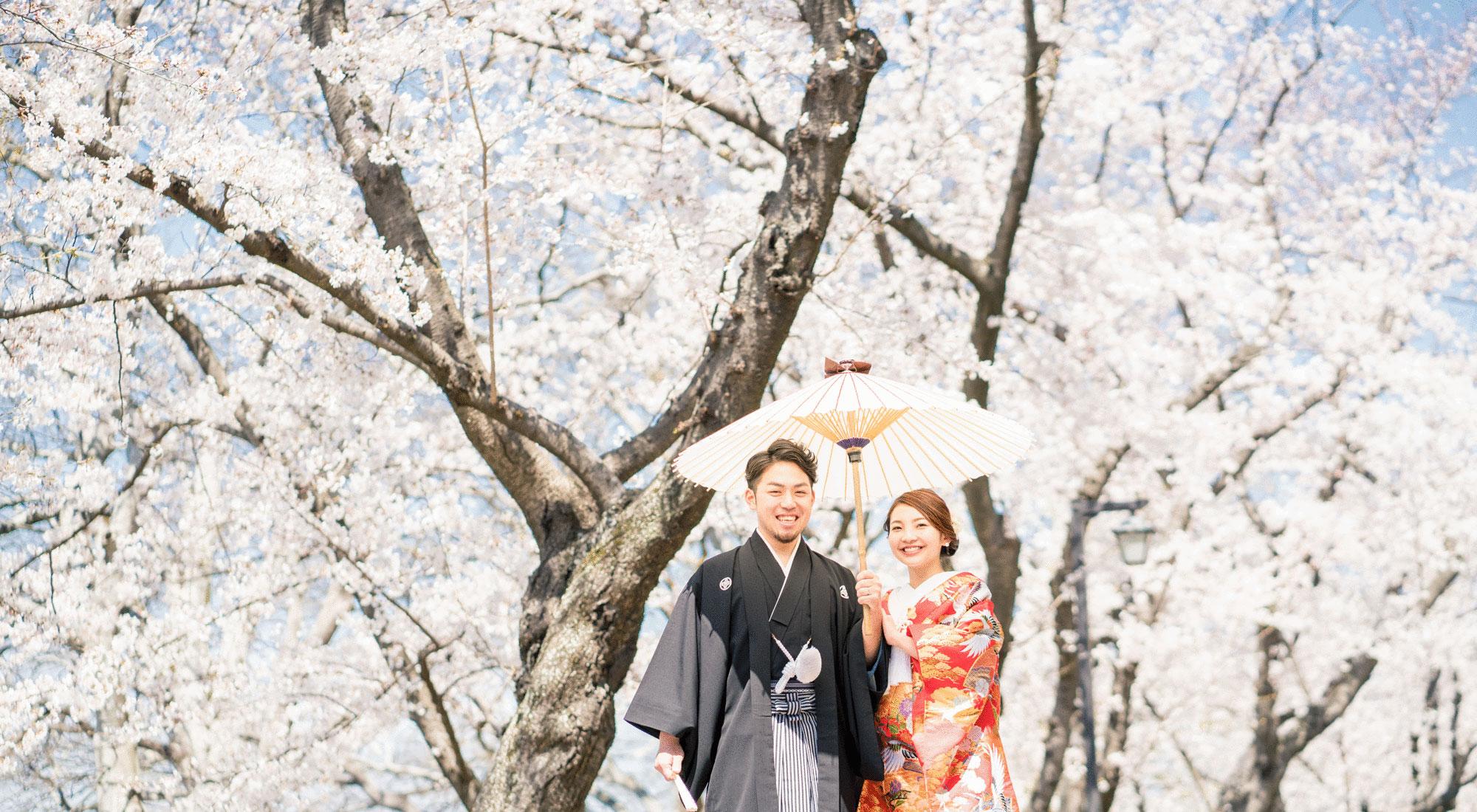 岡山の前撮り|フォトウエディング・和装写真のネムラフィルムズ